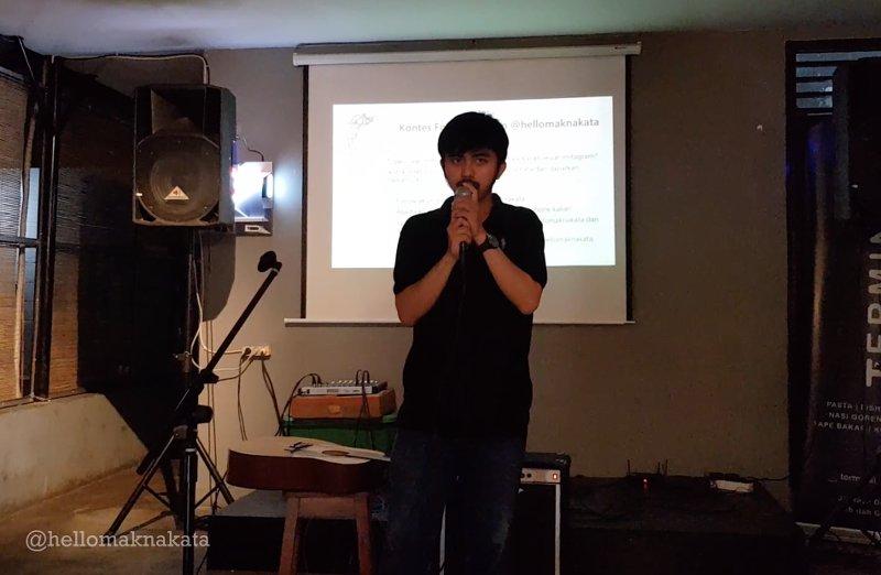 creating poem live